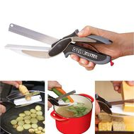 Умный нож-разделочная доска 2в1 Clever Cutter
